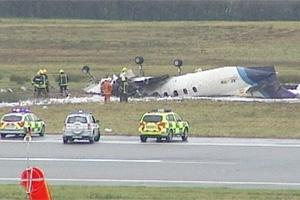 Cork Airport Manx2 Flight 7100 crash