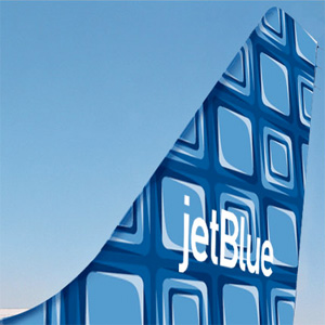 JetBlue Building Blocks tail Blue Kid in Town N587JB Airbus A320