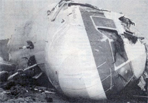Martinair Flight 495 DC-10 PH-MBN crash wreckage