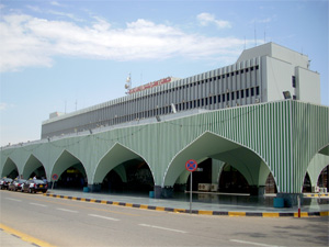 Tripoli International Airport main terminal