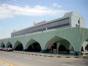 Tripoli International Airport main terminal