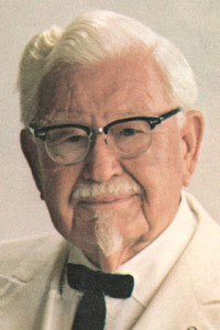 Colonel Sanders NASA chicken fat jet fuel