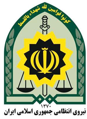 Iran military logo
