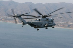 US Marines Sikorsky CH-53E Super Stallion