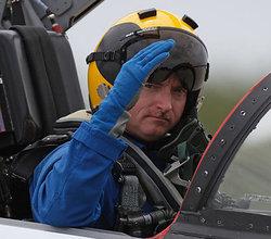 Shuttle Commander Mark Kelly