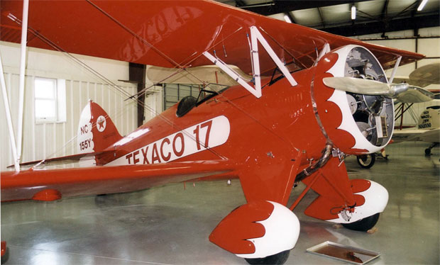 Speed ring on 1932 Waco biplane NC155Y