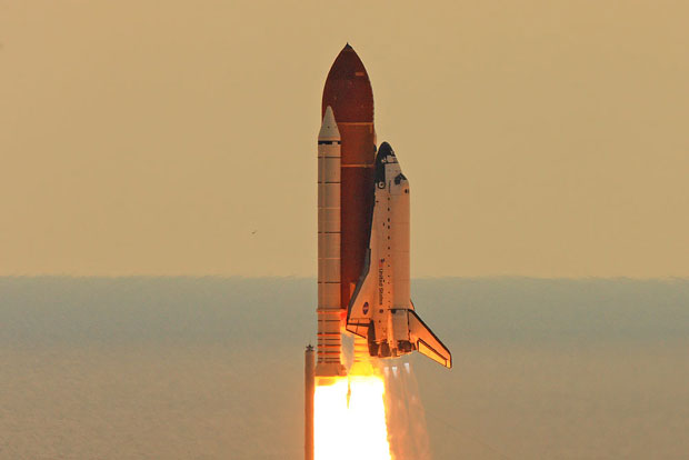 Space Shuttle Endeavour STS-134 liftoff