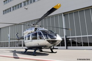 Eurocopter EC145 Mercedes-Benz Style helicopter