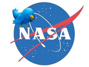 NASA Twitter tweetup bird