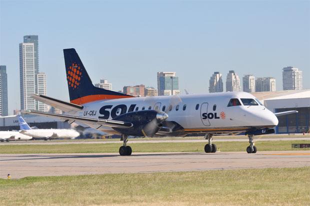 Sol Lineas Aerolinas Saab 340A LV-CEJ