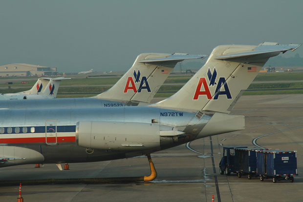 American Airlines MD-80 N972TW at BNA