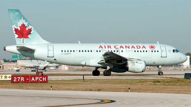 Air Canada Airbus A319 C-GAPY at Fort Lauderdale