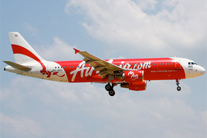 Air Asia Airbus A320 HS-ABG