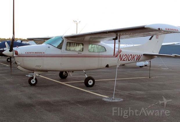 Cessna 210 N210KW at Westchester County Airport in 2010