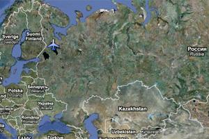 petrozavodsk crash map