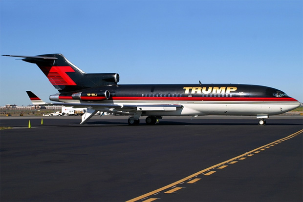 Donald Trump old 727 VP-BDJ.