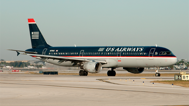 US Airways Airbus A321 N170US