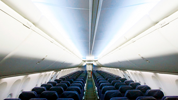 Boeing 737-800 with Boeing Sky Interior