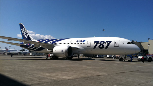 First ANA Boeing 787 Dreamliner