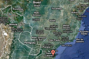 Brazilian Air Force Cessna Grand Caravan plane crash map