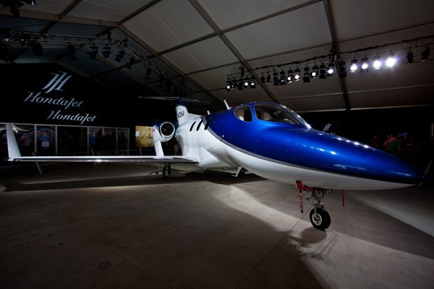 HondaJet on display