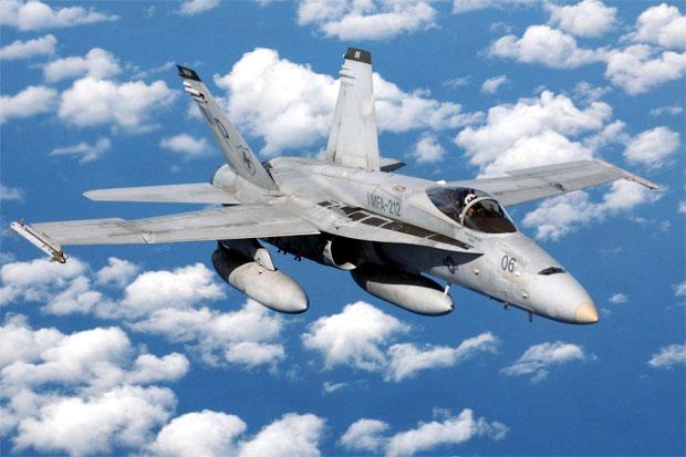 US Marine Corps F/A-18 Hornet
