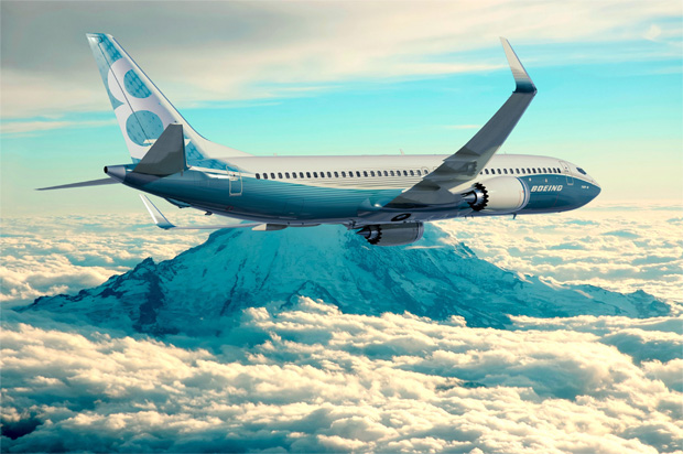 Rendering of 737 MAX 8