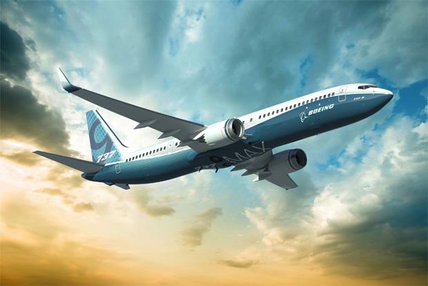 Rendering of 737 MAX 9
