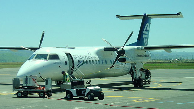 Air Nelson Bombardier Dash 8-Q300 at Napier Airport