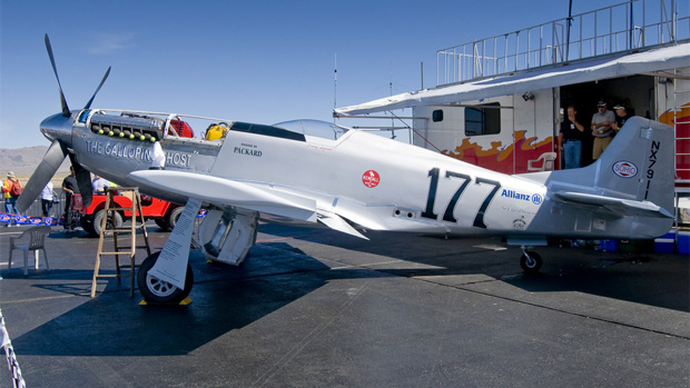 Jimmy Leeward's The Galloping Ghost at the 2010 Reno Air Races