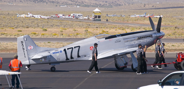 Jimmy Leeward The Galloping Ghost at the 2010 Reno Air Races