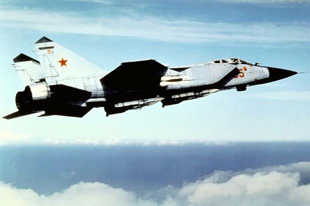 Soviet MiG-31 Foxhound circa 1989