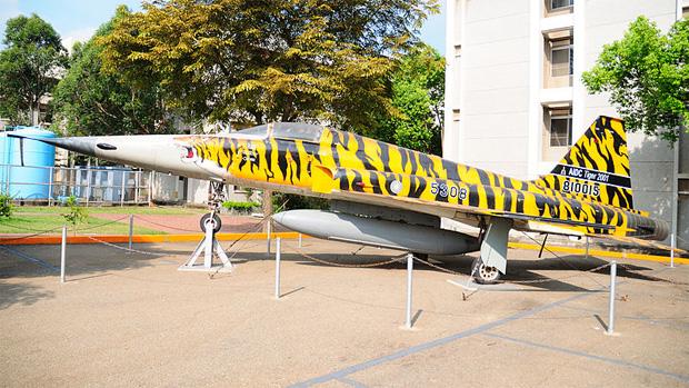 F-5 on display in Taiwan