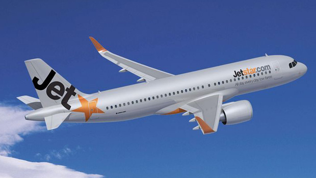 Airbus rendering of a Jetstar A320neo