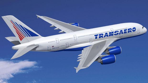 Transaero Airlines Airbus A380-800