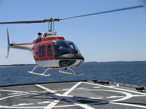 US Marines version of the Bell 206