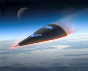 DARPA HTV-2, a similar hypersonic weapon under development.