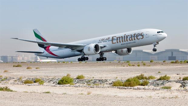 Emirates Boeing 777-300ER A6-ECZ