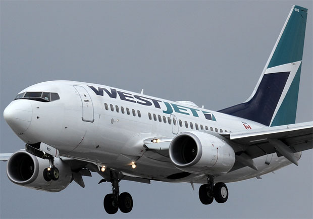 WestJet Boeing 737-600 C-GWSB Toronto Pearson Airport YYZ