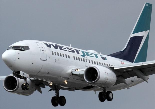 WestJet Boeing 737-600 C-GWSB Toronto Pearson Airport YYZ