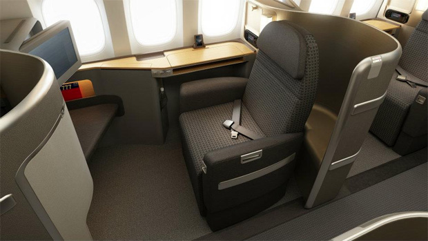 American Airlines Boeing 777-300ER the First Class cabin