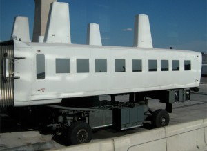 Dulles Plane Mate, aka people mover, aka mobile lounge.