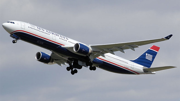 The A330-300, like this US Airways example N278AY